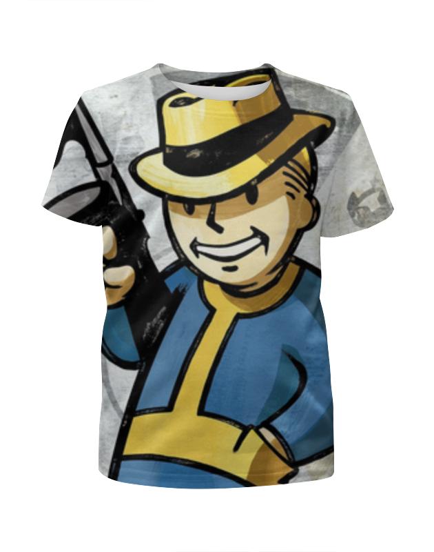 Футболка с полной запечаткой для мальчиков Printio Vault boy (fallout) футболка с полной запечаткой для девочек printio fallout