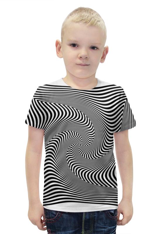 Футболка с полной запечаткой для мальчиков Printio Иллюзия футболка с полной запечаткой для мальчиков printio фруктовая