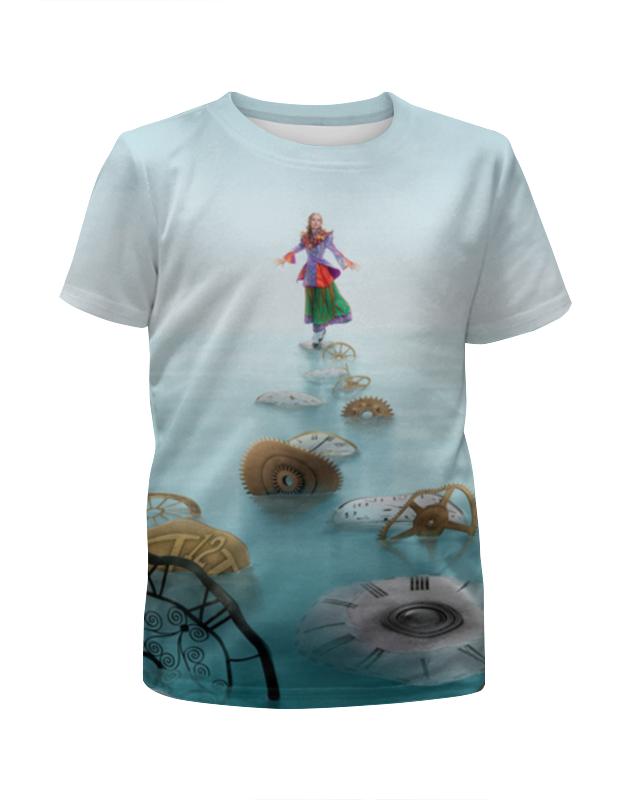 Футболка с полной запечаткой для мальчиков Printio Алиса футболка с полной запечаткой мужская printio алиса