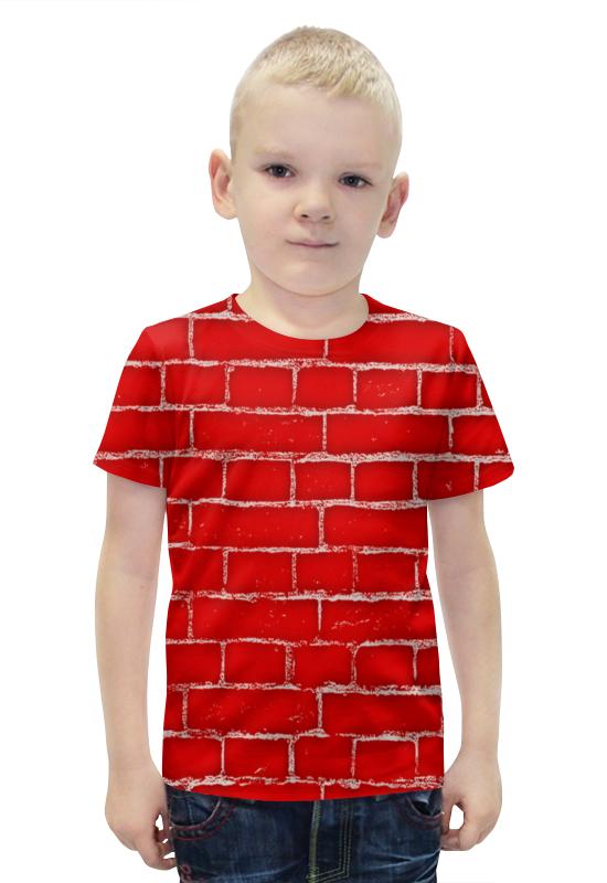 Футболка с полной запечаткой для мальчиков Printio Стена футболка с полной запечаткой для мальчиков printio bats spawn arsb