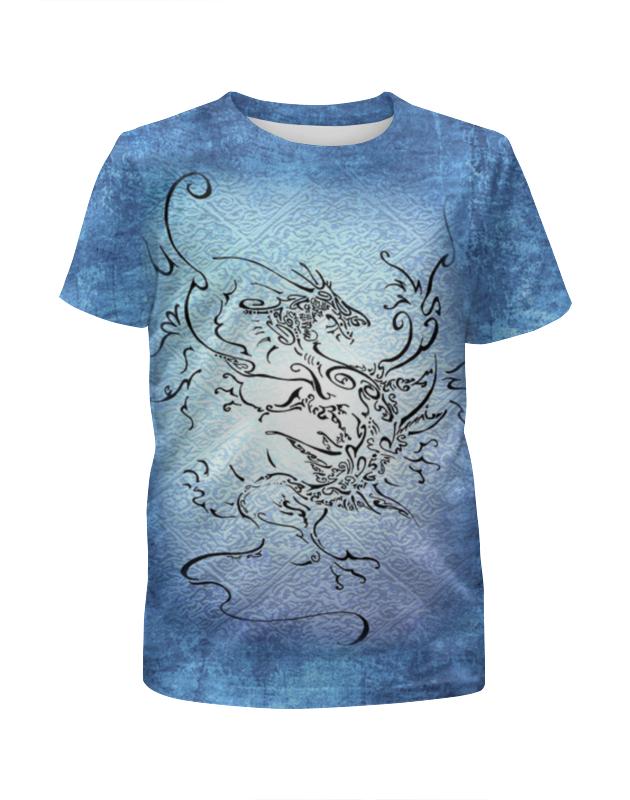 Футболка с полной запечаткой для мальчиков Printio Дракон-ветер футболка с полной запечаткой для мальчиков printio дракон