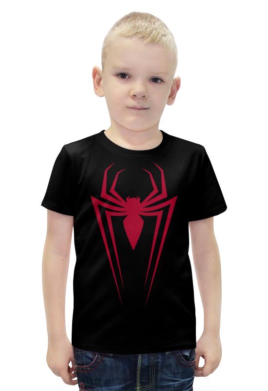 Футболка с полной запечаткой для мальчиков Printio Spider-man футболка с полной запечаткой для мальчиков printio bats spawn arsb