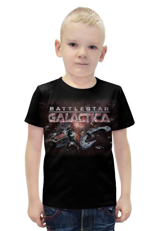 Футболка с полной запечаткой для мальчиков Printio Battlestar galactica patrick di justo the science of battlestar galactica