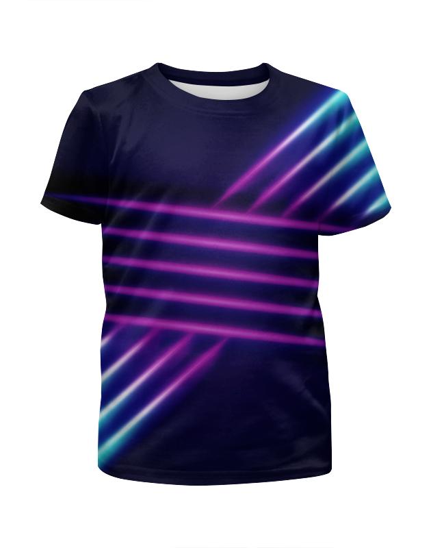 Футболка с полной запечаткой для мальчиков Printio Абстрактные линии футболка с полной запечаткой для мальчиков printio bats spawn arsb