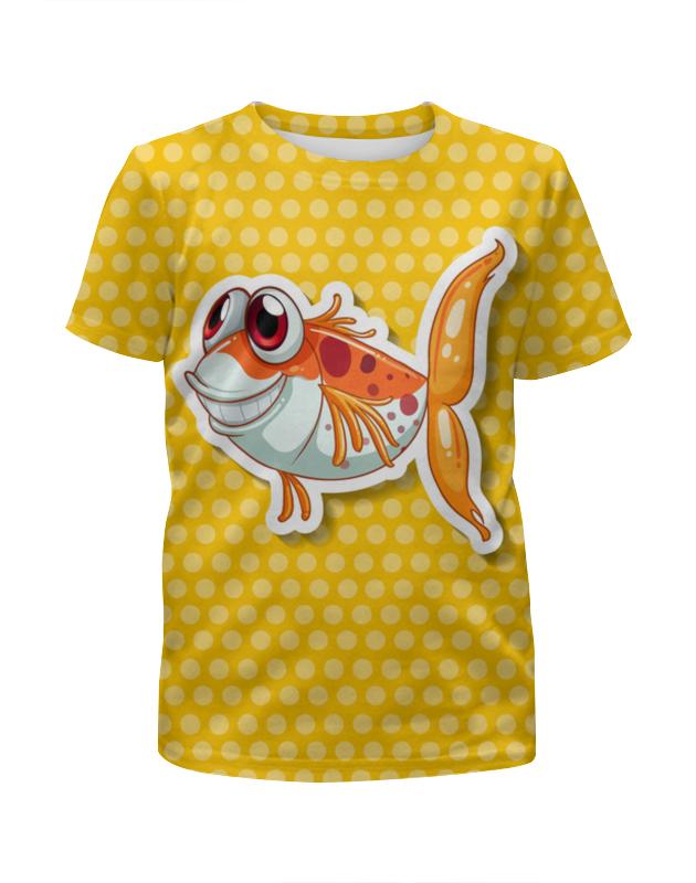 Printio Смешная рыбка рыбка