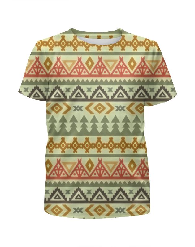Футболка с полной запечаткой для мальчиков Printio Африканский узор футболка с полной запечаткой для мальчиков printio slove arsb
