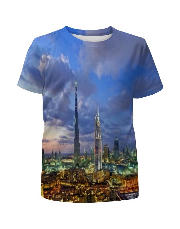 Футболка с полной запечаткой для мальчиков Printio Big city футболка с полной запечаткой для мальчиков printio slove arsb