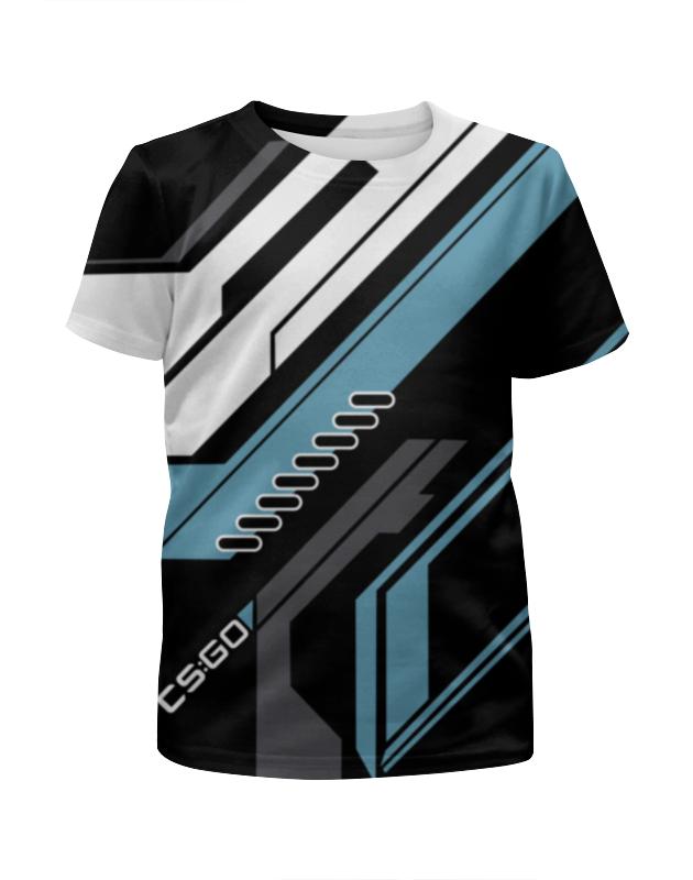 Футболка с полной запечаткой для мальчиков Printio Cs:go - vulcan style (вулкан) футболка с полной запечаткой мужская printio cs go vulcan style вулкан