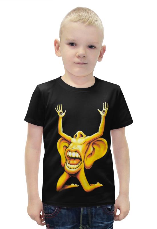 Футболка с полной запечаткой для мальчиков Printio Лицо футболка с полной запечаткой для мальчиков printio slove arsb