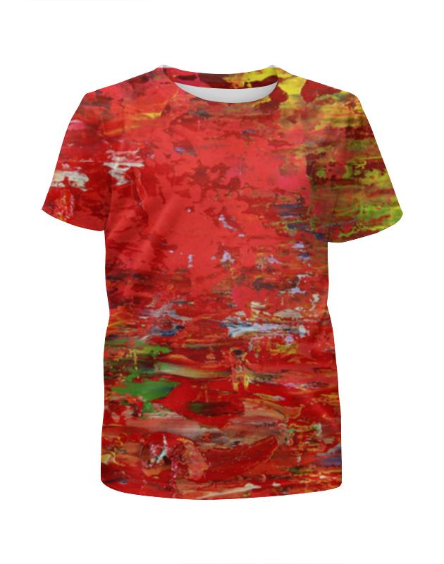 Футболка с полной запечаткой для мальчиков Printio Осенний букет футболка с полной запечаткой женская printio осенний букет
