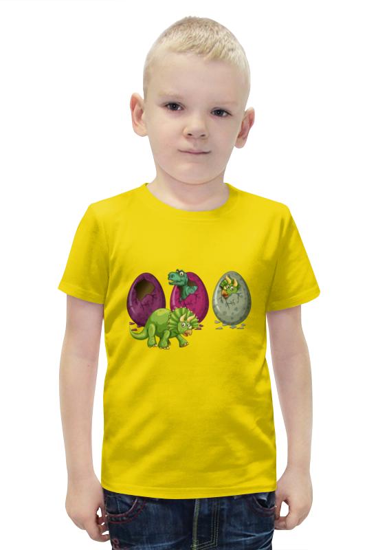 Футболка с полной запечаткой для мальчиков Printio Динозавры футболка с полной запечаткой для мальчиков printio slove arsb