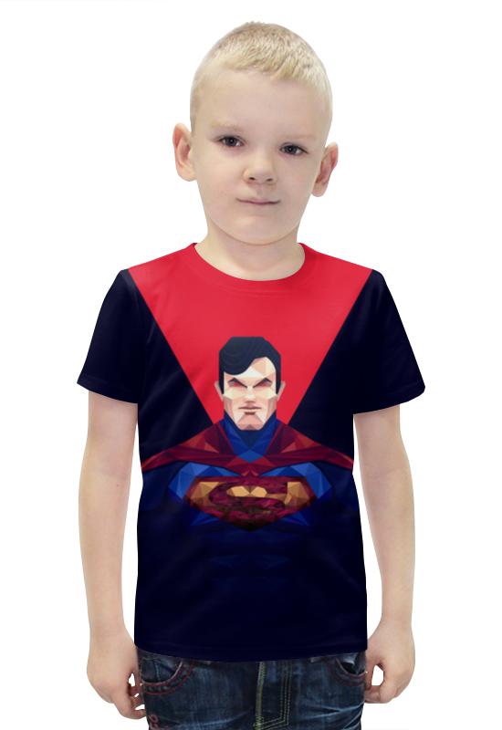 Футболка с полной запечаткой для мальчиков Printio Супермен футболка с полной запечаткой для мальчиков printio bats spawn arsb