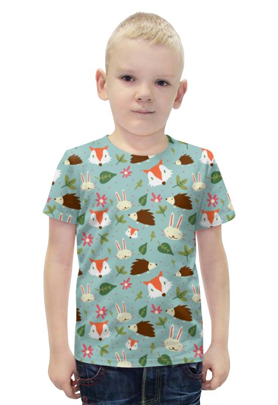 Футболка с полной запечаткой для мальчиков Printio Зверюшки футболка с полной запечаткой для мальчиков printio bats spawn arsb