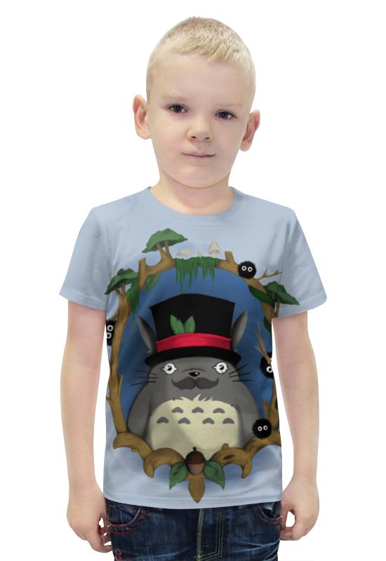 Футболка с полной запечаткой для мальчиков Printio Тоторо футболка с полной запечаткой для мальчиков printio bats spawn arsb