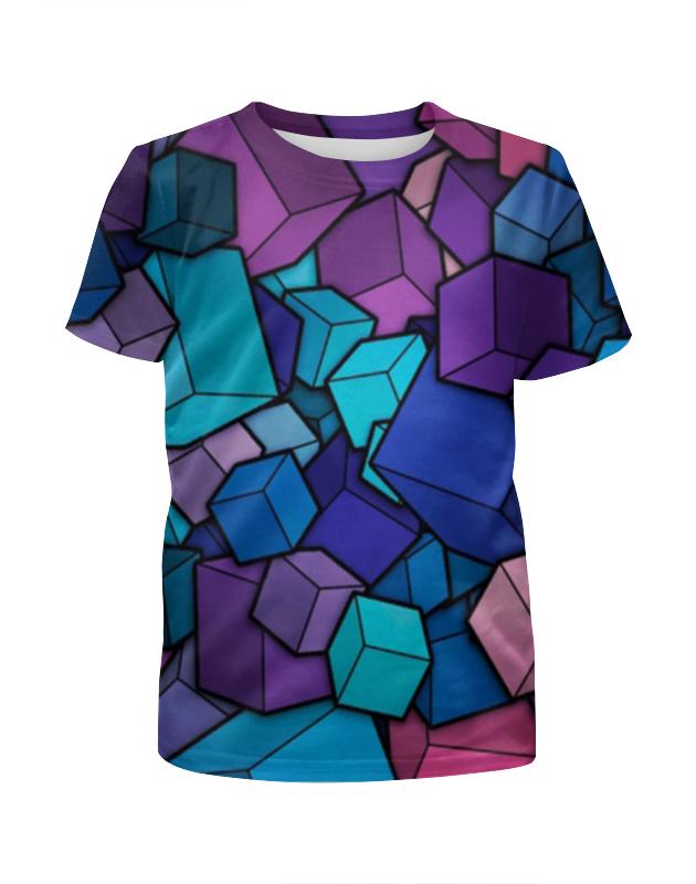 Футболка с полной запечаткой для мальчиков Printio Абстракция футболка с полной запечаткой для мальчиков printio леденцы 3d