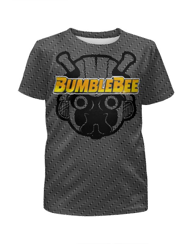Футболка с полной запечаткой для мальчиков Printio Бамблби футболка с полной запечаткой для мальчиков printio бамблби
