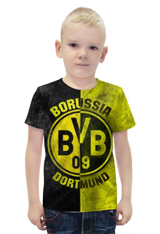 Футболка с полной запечаткой для мальчиков Printio Боруссия дортмунд билет на поезд москва дортмунд