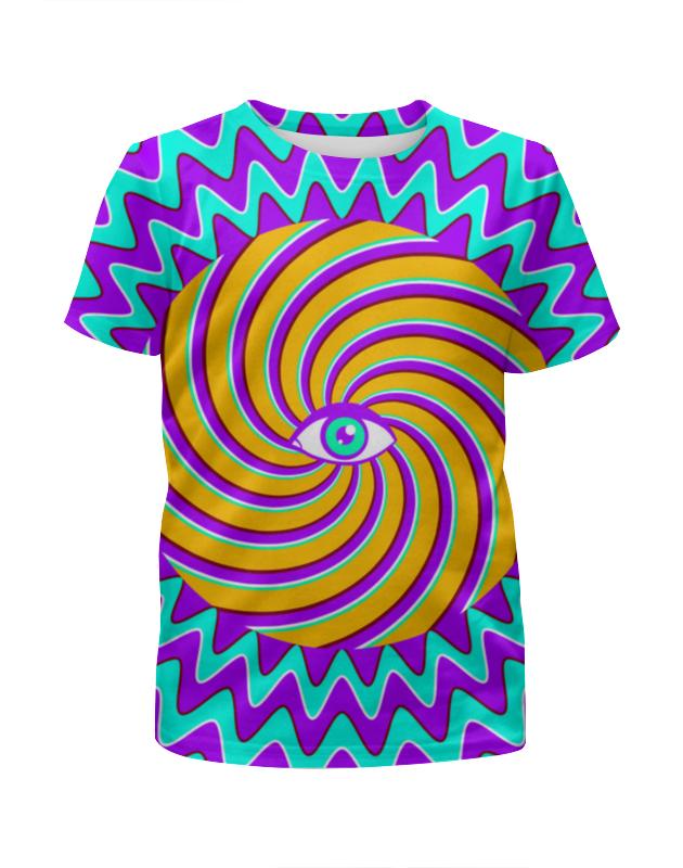 Футболка с полной запечаткой для мальчиков Printio Hypno eye футболка с полной запечаткой для мальчиков printio braaaaatnsssss