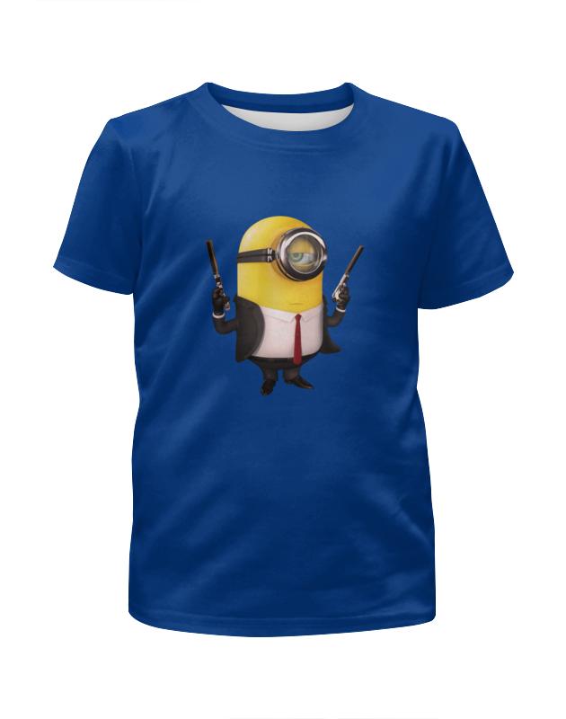 Футболка с полной запечаткой для мальчиков Printio Миньон футболка с полной запечаткой для девочек printio миньон