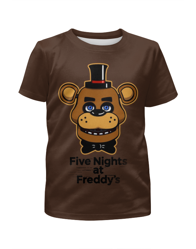 Printio Five nights at freddy's fugitive nights