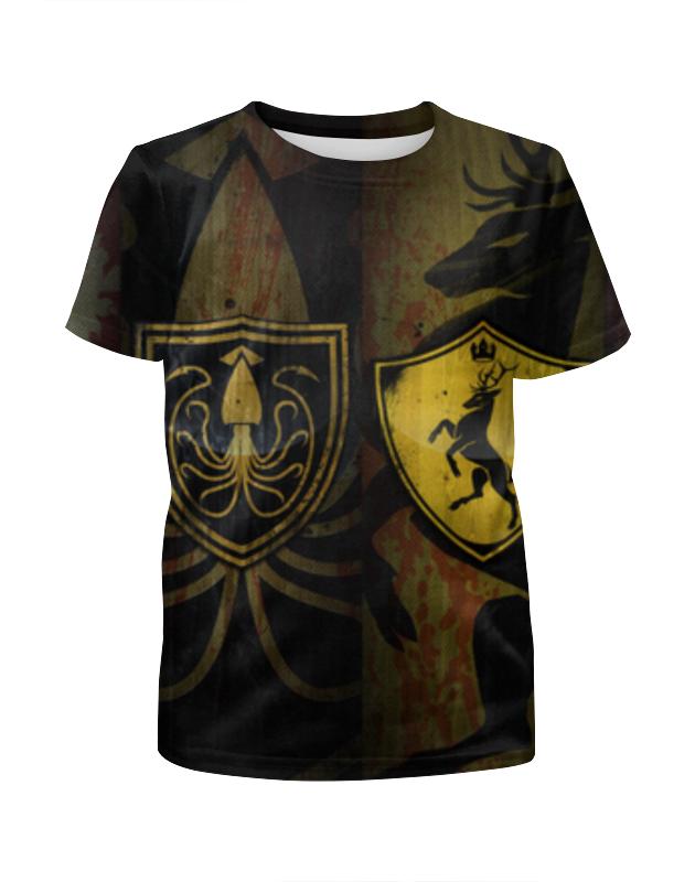 Футболка с полной запечаткой для мальчиков Printio Игра престолов футболка wearcraft premium printio игра престолов