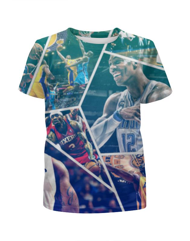 Футболка с полной запечаткой для мальчиков Printio Звезды нба (nba stars) футболка с полной запечаткой для мальчиков printio майкл джордан nba