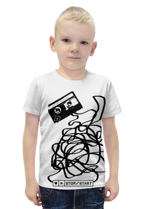 Футболка с полной запечаткой для мальчиков Printio Касета футболка с полной запечаткой для мальчиков printio slove arsb