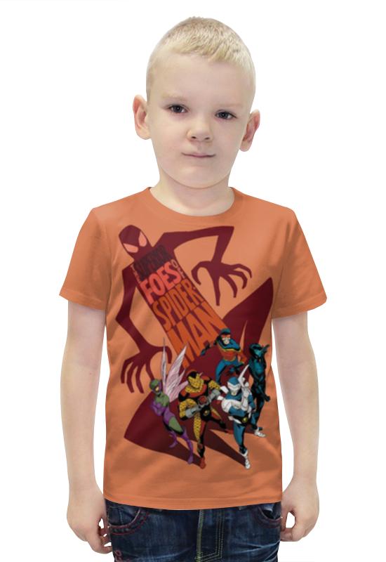 Футболка с полной запечаткой для мальчиков Printio Комиксы футболка с полной запечаткой для мальчиков printio bats spawn arsb