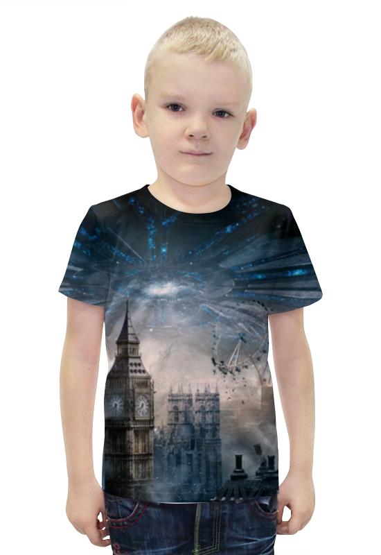 Футболка с полной запечаткой для мальчиков Printio Лондон футболка с полной запечаткой для мальчиков printio bats spawn arsb