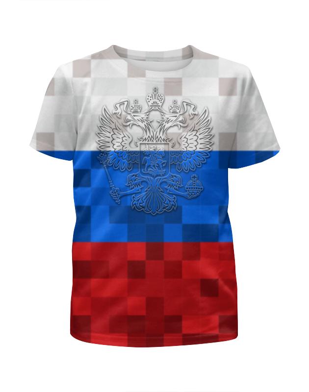 Футболка с полной запечаткой для мальчиков Printio Россия (футбол) футболка с полной запечаткой для мальчиков printio футбол