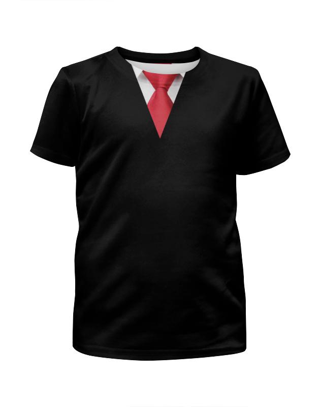 Футболка с полной запечаткой для мальчиков Printio Прилежный ученик галстук для мальчиков unbranded ct19
