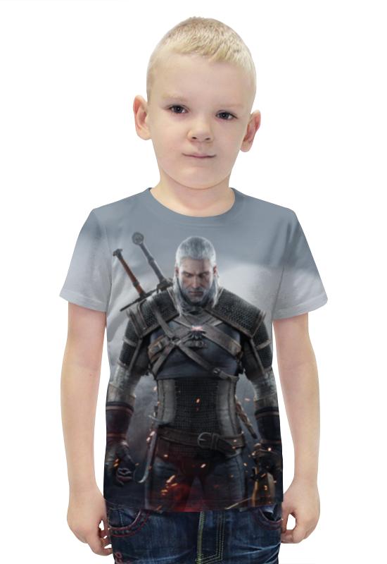 Футболка с полной запечаткой для мальчиков Printio Ведьмак футболка с полной запечаткой для мальчиков printio bats spawn arsb