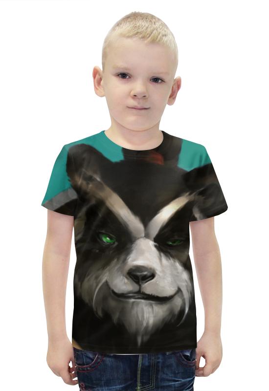 Футболка с полной запечаткой для мальчиков Printio Панда (panda) футболка с полной запечаткой для мальчиков printio панда