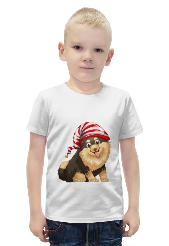 Футболка с полной запечаткой для мальчиков Printio Забавный щенок футболка с полной запечаткой для девочек printio щенок