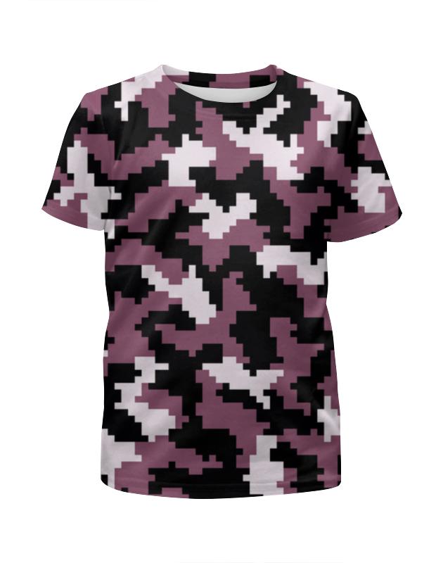 Футболка с полной запечаткой для мальчиков Printio Camouflage pixel футболка с полной запечаткой для мальчиков printio camouflage brown