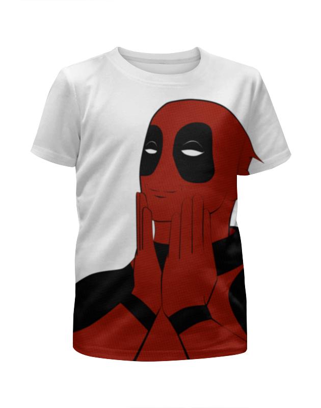 Футболка с полной запечаткой для мальчиков Printio Дэдпул (deadpool) футболка с полной запечаткой для девочек printio deadpool дэдпул