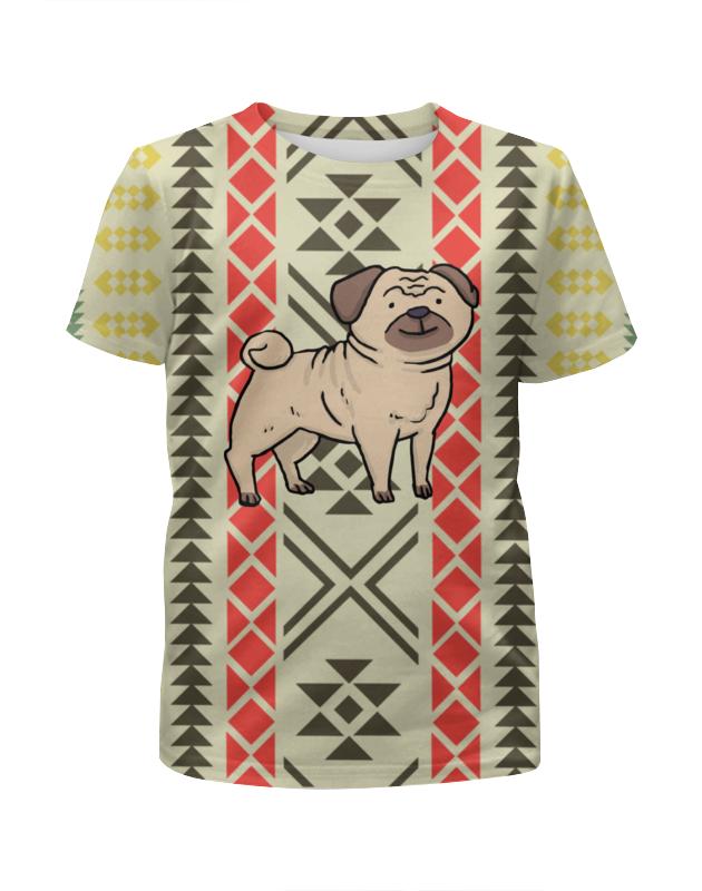 Футболка с полной запечаткой для мальчиков Printio Собака футболка с полной запечаткой для мальчиков printio собака
