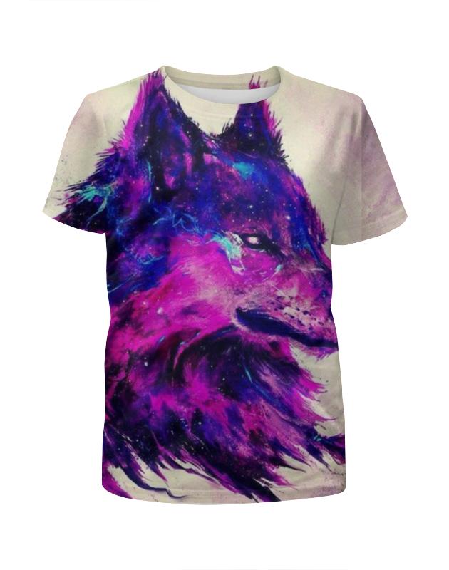 Футболка с полной запечаткой для мальчиков Printio .волк. футболка с полной запечаткой для мальчиков printio волк