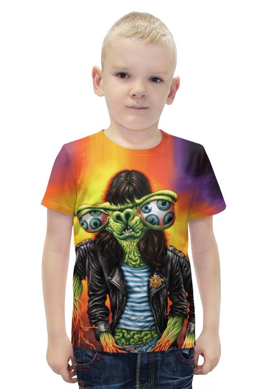 Футболка с полной запечаткой для мальчиков Printio Хипстер футболка с полной запечаткой для мальчиков printio bats spawn arsb