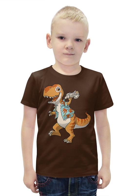 Футболка с полной запечаткой для мальчиков Printio Дракончик футболка с полной запечаткой для мальчиков printio bats spawn arsb