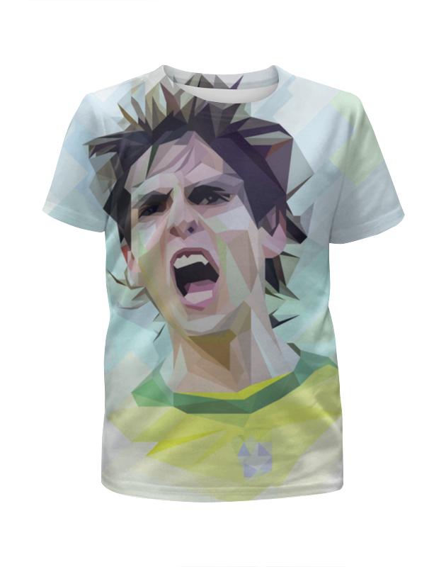 Футболка с полной запечаткой для мальчиков Printio Футбольная мозайка кака футболка для футбола