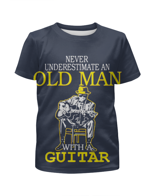 лучшая цена Printio Old man guitar