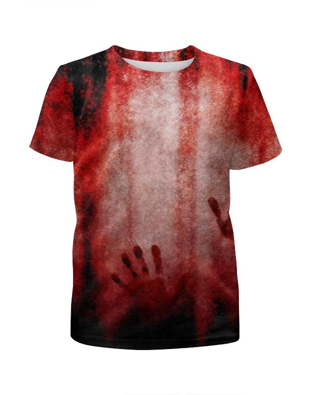 Футболка с полной запечаткой для мальчиков Printio Blood футболка с полной запечаткой для мальчиков printio spartacus blood and sand