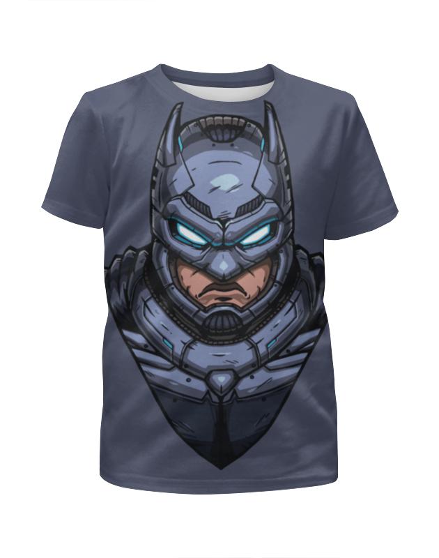 Футболка с полной запечаткой для мальчиков Printio Armored batman / бэтмен в броне толстовка wearcraft premium унисекс printio armored batman бэтмен в броне