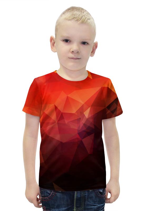 Футболка с полной запечаткой для мальчиков Printio Текстура футболка с полной запечаткой для мальчиков printio bats spawn arsb