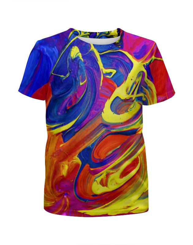 Футболка с полной запечаткой для мальчиков Printio Яркие краски футболка с полной запечаткой для мальчиков printio яркие краски