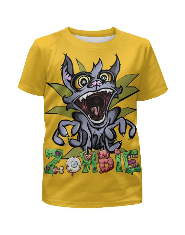 Printio Zombie футболка с полной запечаткой для мальчиков printio zombie sheriff