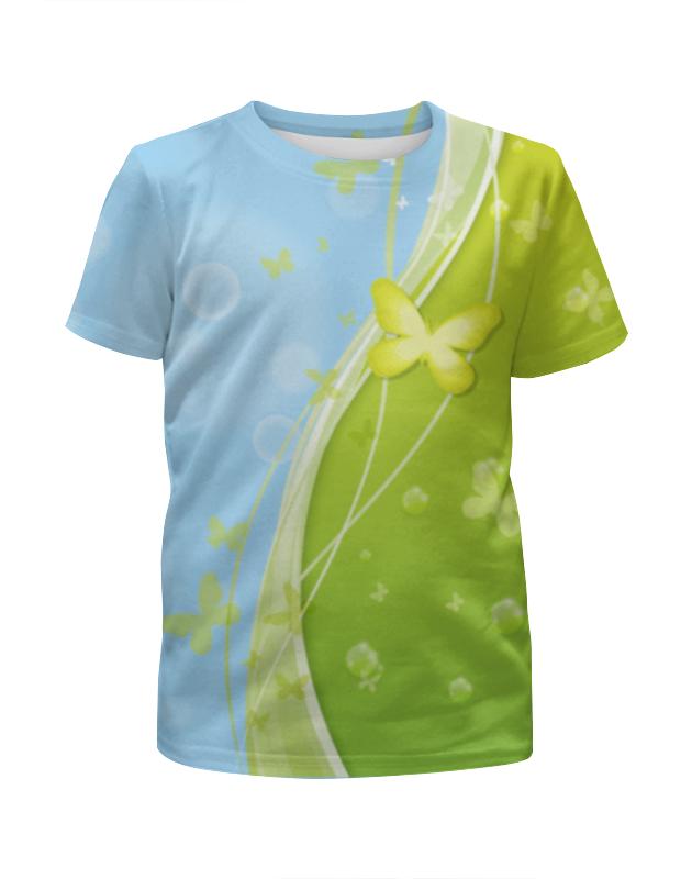 Футболка с полной запечаткой для мальчиков Printio Летний мотив футболка с полной запечаткой для мальчиков printio летний отдых