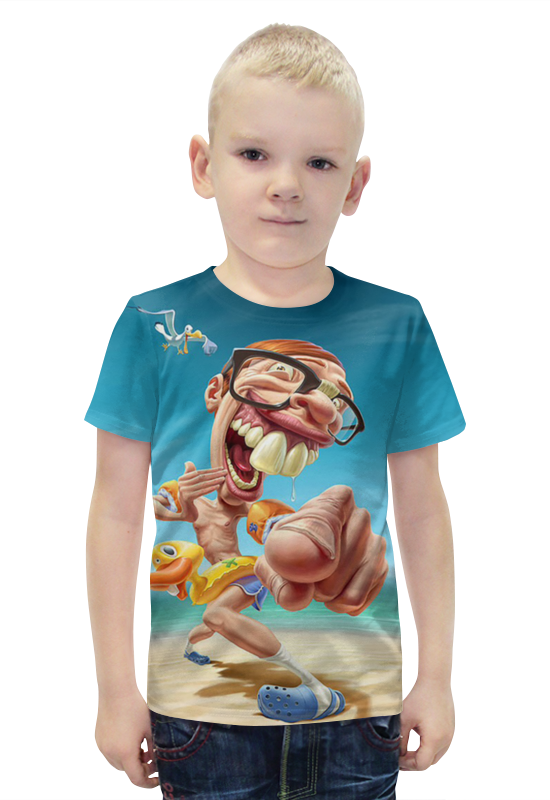 Футболка с полной запечаткой для мальчиков Printio Турист футболка с полной запечаткой для мальчиков printio bats spawn arsb