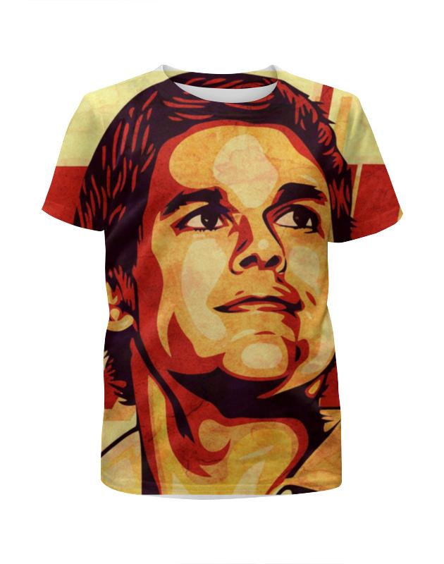 Футболка с полной запечаткой для мальчиков Printio Декстер футболка с полной запечаткой для мальчиков printio braaaaatnsssss